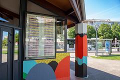Fresque SOIA-141 (Mairie de Colomiers (compte officiel)) Tags: artiste colomiers soia sophie fresque peinture valdaran