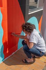 Fresque SOIA-132 (Mairie de Colomiers (compte officiel)) Tags: artiste colomiers soia sophie fresque peinture valdaran