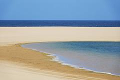 Le lagon (hans pohl) Tags: portugal sesimbra lagoa lagon atlantique océan eau water plages beaches sable sand