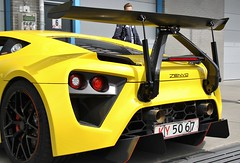 IMG_7804 (Uno100) Tags: zenvo tsr s 1 geel yellow gelb danish sports car super sunday 2019 hyper tt assen netherlands circuit race spoiler spotting mega dashboard 1200 hp back front