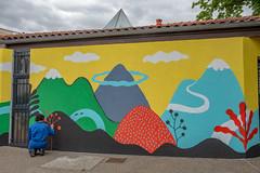 Fresque SOIA-173 (Mairie de Colomiers (compte officiel)) Tags: artiste colomiers soia sophie fresque peinture valdaran