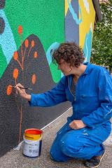 Fresque SOIA-170 (Mairie de Colomiers (compte officiel)) Tags: artiste colomiers soia sophie fresque peinture valdaran