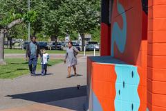 Fresque SOIA-148 (Mairie de Colomiers (compte officiel)) Tags: artiste colomiers soia sophie fresque peinture valdaran