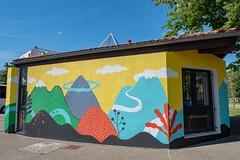 Fresque SOIA-144 (Mairie de Colomiers (compte officiel)) Tags: artiste colomiers soia sophie fresque peinture valdaran