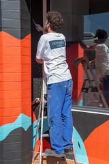 Fresque SOIA-136 (Mairie de Colomiers (compte officiel)) Tags: artiste colomiers soia sophie fresque peinture valdaran