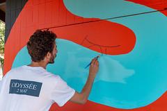 Fresque SOIA-133 (Mairie de Colomiers (compte officiel)) Tags: artiste colomiers soia sophie fresque peinture valdaran