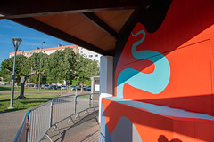 Fresque SOIA-124 (Mairie de Colomiers (compte officiel)) Tags: artiste colomiers soia sophie fresque peinture valdaran