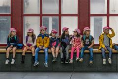 Colourful trip I (jefvandenhoute) Tags: belgium belgië antwerp antwerpen centralstation centraalstation school colors