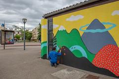 Fresque SOIA-168 (Mairie de Colomiers (compte officiel)) Tags: artiste colomiers soia sophie fresque peinture valdaran