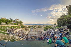 Old Plovdiv-Roman amphitheater (ang-yan) Tags: roman amphitheater old plovdiv bulgaria 7artisans 75mm f28 fisheye ©angel yanev