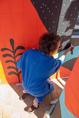 Fresque SOIA-137 (Mairie de Colomiers (compte officiel)) Tags: artiste colomiers soia sophie fresque peinture valdaran