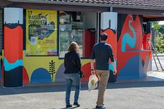 Fresque SOIA-134 (Mairie de Colomiers (compte officiel)) Tags: artiste colomiers soia sophie fresque peinture valdaran