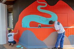 Fresque SOIA-130 (Mairie de Colomiers (compte officiel)) Tags: artiste colomiers soia sophie fresque peinture valdaran