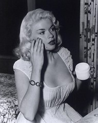 Jayne Mansfield (poedie1984) Tags: jayne mansfield vera palmer blonde old hollywood bombshell vintage babe pin up actress beautiful model beauty hot girl woman classic sex symbol movie movies star glamour girls icon sexy cute body bomb 50s 60s famous film kino celebrities pink rose filmstar filmster diva superstar amazing wonderful photo picture american love goddess mannequin black white mooi tribute blond sweater cine cinema screen gorgeous legendary iconic lippenstift lipstick busty boobs décolleté jurk dress armband bracelet ointment zalf