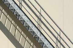 Play with lines and shadows (Jan van der Wolf) Tags: map195485v lines lijnen lijnenspel playoflines interplayoflines shadow shadowplay shadows schaduw schaduwen schaduwspel stairs staircase steps trap treden