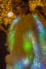 Magic night GB 3 (Gabi Breitenbach) Tags: venice venedig venezia magic magicnight illuminated colourful bokeh woman lady fancy smile lights dressup masque maske carnevale carnival fccmagicnight