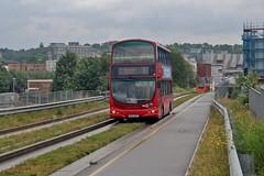 BU54 WAY, Grant Palmer Volvo 706, Luton, 8th. June 2019. (Crewcastrian) Tags: luton buses busway transport grantpalmer volvo wright bu54way 706 lx06dzu wvl236