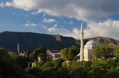 Koski Mehmed Pasha Mosque (sfryers) Tags: oldtown historic city mosque minaret islamic architecture mountains kujundžiluk bosnia herzegovina bosnaihercegovina smc pentaxfa 35mm 12