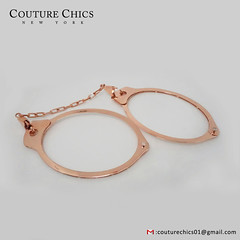 Natural 0.28 Ct. Diamond Pave Handcuff Bangle Bracelet With Chain Solid 18k Rose Gold Handmade Jewelry (couturechics.facebook1) Tags: natural 028 ct diamond pave handcuff bangle bracelet with chain solid 18k rose gold handmade jewelry