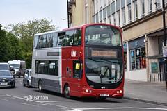 First West of England 37609, WX58JXT. (EYBusman) Tags: first west england bristol avon cityline floating harbour city centre unibus bus coach wright eclipse gemini volvo b9tl park ride 37609 wx58jxt eybusman