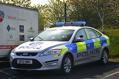 SF12 BNY (S11 AUN) Tags: police scotland ford mondeo irv incident response vehicle driver training unit area car 999 emergency udivision sf12bny