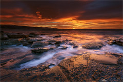 Out of The Dark (Maciek Gornisiewicz) Tags: greatoceanroad victoria australia apollo bay sea ocean rocks clouds morning dawn sunrise landscape seascape moody shore coast travel outdoors coastline canon nisi 1635mm 5div maciek gornisiewicz darkelf photography 2018 outofthedark marengo beach