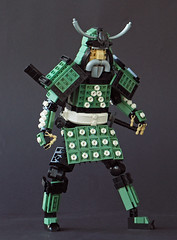 The Samurai of the Garden (Eero Okkonen) Tags: lego moc samurai character warrior