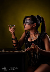 7 Deadly Sins by SpirosK and Ailiroy: Greed (SpirosK photography) Tags: sevendeadlysins 7deadlysins portrait corset lowkey studio spiroskphotography ailiroy concept conceptual beautiful nikon model greek wealth hoarding money riches goth mask