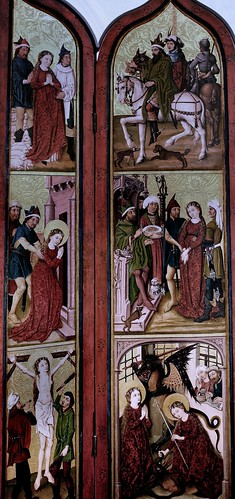 IMG_1200KZAB Master of the Cobourg Rounds. End of the 15th century. Strasbourg.   Altarpiece of Saint Margaret. Dijon.