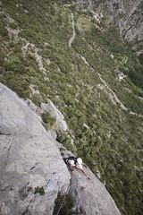 Amistades pelirrojas / Perles (le pere ubu) Tags: escalade grandevoie multipitch climbing calcaire perles lleida vg lepereubu