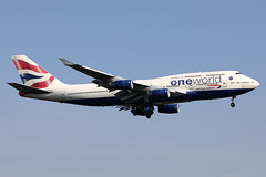 G-CIVZ 747-436 (Ian Tate) Tags: londonheathrow lhr egll gcivz boeing747436 britishairways oneworld