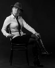 Sexy spy (Toftus Photography) Tags: tromsø troms norway no norge nordnorge northernnorway beauty beautiful hermosa beau joli belle magnífico sexy vakker smuk 美丽 綺麗な красивый woman girl jente pige female femme femelle femenino kvinde kvinne женщина самка дама 女人 妇女 女性 frau mädchen 女孩 女の子 девушка photostudio fotostudio studio model modell portrett portrait bw blackandwhite sorthvit sh monochrome canon eos 5d mark iv