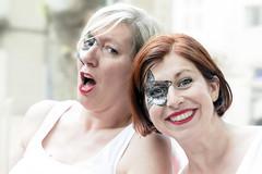Années 70 (Xtian du Gard) Tags: xtiandugard nîmes pégoulage 2019 femmes women portrait gard france féria fiesta déguisement makeup highkey