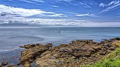 Costa de Finisterre. La Coruña. (Fotgrafo-robby25) Tags: finisterrelacoruña nubes océanoatlánticonorte rocas sonyilce7rm3