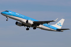 PH-EZA (GH@BHD) Tags: pheza embraer erj erj190 kl klm klmcityhopper royaldutchairlines bhd egac belfastcityairport regionaljet aircraft aviation airliner
