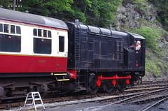 IMGP0275 (Steve Guess) Tags: lakeside haverthwaite steam railway cumbria england gb uk train lms diesel shunter wd lakedistrict