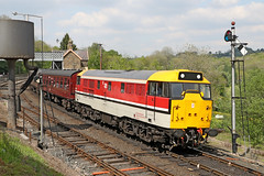 97205 (31163) Class 31 (Roger Wasley) Tags: 97205 31163 class31 diesel locomotive trains railways svr severnvalleyrailway heritage preserved preservation
