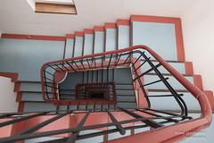 New Stairwell (Frank Guschmann) Tags: treppe treppenhaus staircase stairwell escaliers architektur stairs stufen steps frankguschmann nikond500 d500 nikon