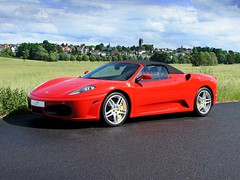 Ferrari F430 Spider Convertible Top (ck-cabrio_creativelabs) Tags: convertibletop manufactory padding cloth tensile germany carlover ckcabrio upholstery assembly hood softtop top cabriolet convertible ferrari f430 red garage drivetastefully windshield car german