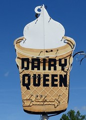 IN, Austin-U.S. 31 Dairy Queen Neon Sign