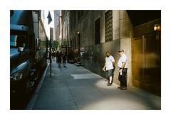 FILM - Morning light (fishyfish_arcade) Tags: 35mm analogphotography canonsureshotz135 filmphotography filmisnotdead istillshootfilm kodak newyork portra400 analogcamera compact film streetphotography
