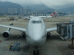201905145 Hong Kong airport with China Airlines airplane (taigatrommelchen) Tags: 20190522 china hongkong cheklapkok airport airplane hkg vhhh cal