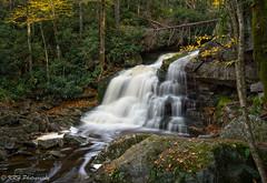 The Second Drop, Elakala Falls (KRHphotos) Tags: elakalafalls stream westvirginia blurredwater landscape waterfall blackwaterfallsstatepark nature
