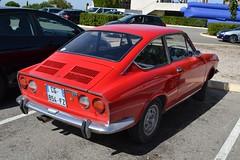 FIAT 850 Sport Coupé (3ème série) - 1971 (SASSAchris) Tags: fiat 850 sport coupé voiture italienne turin gianni agnelli 3ème série httt htttcircuitpaulricard htttcircuitducastellet castellet circuit ricard