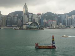 201905138 Hong Kong Wan Chai (taigatrommelchen) Tags: 20190522 china hongkong wanchai sight icon clouds ocean city skyline building mountains harbour ship