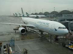 201905149 Hong Kong airport with Cathay Pacific airplanes (taigatrommelchen) Tags: 20190522 china hongkong cheklapkok airport airplane hkg vhhh cpa