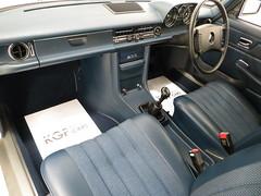 1975 Mercedes-Benz 200 W115 (KGF Classic Cars) Tags: mercedes 200 mercedesbenz 300 500 250 280 merc w123 w124 w126 w115 r107 kgfclassiccars classic retro german luxury carsforsale