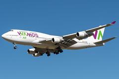 Boeing 747-4H6 / EC-MRM / Wamos Air / LFSB (Thomas_Rs) Tags: spotting wamos boeing 747 basel euroairport lfsb plane