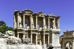 1656  The Library of Celsus (foxxyg2) Tags: history greece classics classicalgreece rome sevenwonders ephesus turkey efes library celsus artemis diana