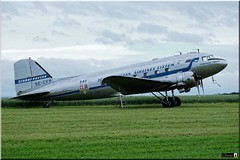 "DC-3 ""Daisy"", SE-FCP (OlivierBo35) Tags: caen cfr lfrkdaksovernormandy dc3 dakota douglas dday skytrain"